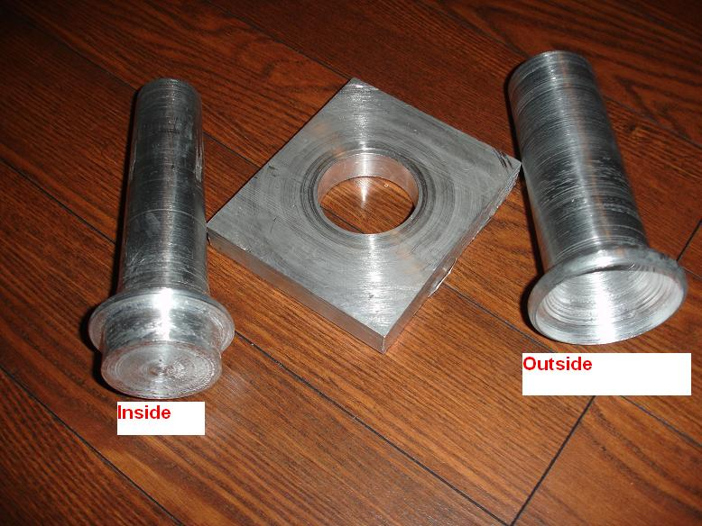 Velocity stack aluminum mold - how would you do it