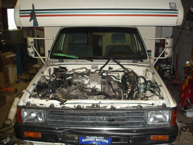 Motorhome Lexus V8 Swap